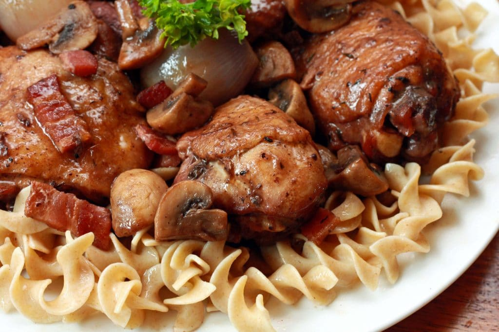 Coq Au Vin Recipe- The Daring Gourmet